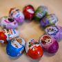10 tojással készültünk, amikből a Kinder volt a legolcsóbb.