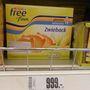 Dícséretes, hogy rengeteg saját márkás gluténmentes terméke van az Intersparnak.