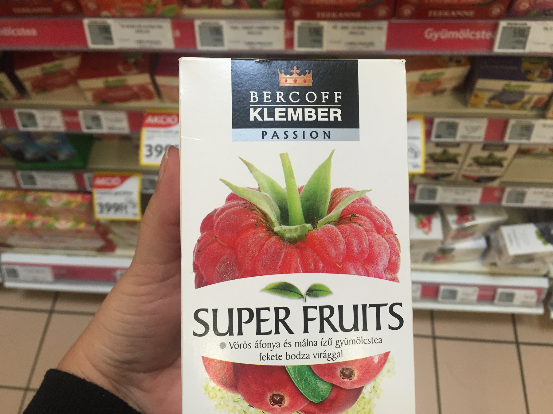 A Milford gyümölcsteákat nagyon sokan szeretik.