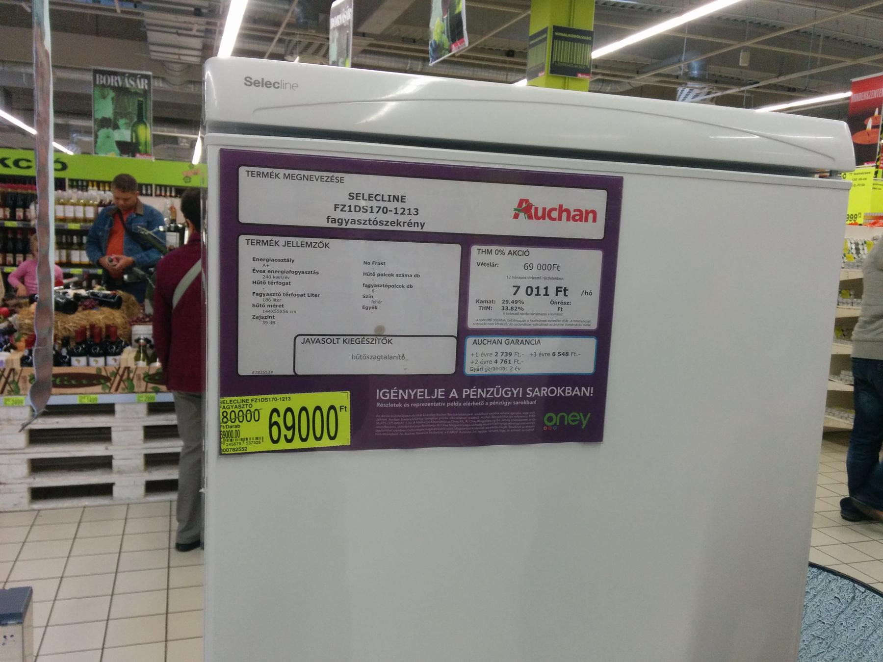 Goldenstar márkájú lombszívó, viszont csak 7000 forint a végső ára. Tényleg nem nagyon láttunk ennél olcsóbban.