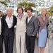 A holdfény királyság bemutatóján a cannes-i filmfesztiválon: Jason Schwartzman, Bruce Willis, Wes Anderson, Edward Norton, Tilda Swinton és Bill Murray