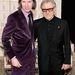 Wes Anderson és Harvey Keitel a Grand Budapest Hotel premierjén New Yorkban.