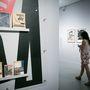 A kiállítás után rögtön átmehetett az ember a magyar avantgárdot bemutató tárlatra.
