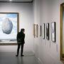 A kiállítás másik csúcsa Magritte híres és monumentális képe.