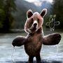 """A """"Kiddie Arts"""" névre keresztelt hangulatos sorozatban felelevenednek az ártatlan gyerekkori fantázia leggyakoribb figurái és legfurcsább kinézetű állatai."""