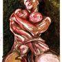 Így dolgozta át Richardson és Bacon munkásságát a festő.