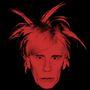 Malkovich Andy Warholként. Az eredeti önarckép 1986-ban készült.