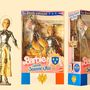 Jeanne d'Arc Barbie is helyet kapott a kollekcióban.