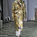 Eltakart arcú modell a 2012-es Paris Haute couture Week-en.