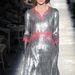 Ezüst és rózsaszín a Chanel Haute Couture Shown Párizsban.