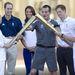 Az olimpiai fáklya megérkezett a Buckingam-palotához.