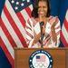 Michelle Obama így köszönti az USA olimpiai csapatát Londonban.