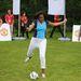 Michelle Obama sportosabb összeállításba bújt, hogy - többek közt David Beckhammel - Let's Move London esemény kedvéért.