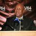 Jeff Radebe dél-afrikai igazságügyi miniszter is elzarándokolt a New York-i bemutatóra.