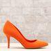 Stradivarius: ez a narancs cipő még előző kollekcióból maradt, 4990 forint leárazva.