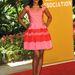 Kerry Washington rózsaszín Dior koktálruhűban Beverly Hillsben.