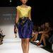 Andreea Tincu sárga és liláskék ruhája a következő nyárra.
