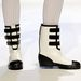 Gumicsizmaszerű cipők Christopher Ciccone-tól.