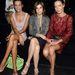 Nadege du Bospertus, Carine Roitfeld és Marpessa Hennink a Dolce&Gabbana bemutató első sorában.