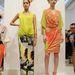 Narancssárga cipő  Josie Natori bemutatóján is látható volt.