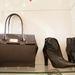 Majdnem Birkin táska, őszi cipővel. Takács Judit  munkája a táska, Vágó Rékáé a cipő.