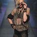 Madonna kilencvenes évek elejéről ismert együttese a Gaultier kifutóján 2012-ben.