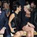 Illusztris első sor a Saint Laurent-nél. Salma Hayek, Francois Henri Pinault, Kate Moss és pasija, Jamie Hince