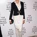 Linda Evangelista a Chanel's:The Little Black Jacket eseményen döntött a szoknyás nadrág mellett.