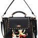 Egy szegecses, gésás, vad, fekete táska a Romwe-ról 97 dollár, 21 ezer forint