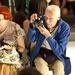 A Vogue.com divatszerkesztője,Lynn Yaeger és a New York Times divatfotósa, Bill Cunningham.
