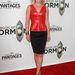 Ali Larter színésznő megmutatja, hogy a piros bőr igenis dögös: csak ne kombináljuk további bőrökkel és csicsás kiegészítőkkel.