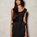 Még egy különleges fekete ruha, peplummal. Pull and Bear, 8995 forint