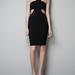 Zara ruha 25995 forint. A kivágások miatt csak tökéletes alakúaknak ajánljuk.