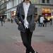 Kabát: H&M, Ing: H&M, Nadrág: Zara, Zokni: H&M, Cipő: H&M, Kalap: H&M