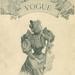 Vogue borító 1892-ből