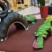 Játszótér, amit a Madarász utcai Gyermekkórház lakói fognak használni