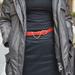 kabát - Wellensteyn, sál - london cipő Salamander, felső - H&M, szoknya - H&M, öv -