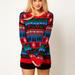 Asos:  Ebben a pulóverben is nehéz lenne elvegyülni a tümegben. Ár: 45,44 euró