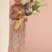 Junko Shimada tervezőnő tetőtől-talpig virágmintában