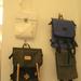 Iskola táskára emlékeztető táskák szinte minden design butikban megtalálhatóak, így a Rododendromban is.