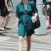 Jessica Chastain hétköznap is smaragdban jár