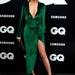 Juana Acosta színésznő  a GQ év férfija díjátadóra öltözött ki. 2012 november 19-én Madridban a Ritz hotelben villantott lábat.