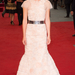 A színésznő az Anna Karenina londoni filmpremierjén szeptemberben: egy 2012-es ősz Chanel ruhát visel.