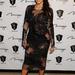 Kardashian már terhes: 2012 december 31-én ebben a csipkeruhában búcsúztatta az óévet.