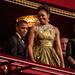 Michelle Obama Michael Kors estélyiben mosolyog egy decemberi rendezvényen.