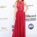 Taylor Swift csodásan festett Elie Saab ruhájában a Billboard Music Awards-on májusban, Las Vegasban.