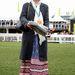 Lily Allen pedig beéri egy szövetkabáttal is.