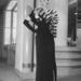 Modell az amerikai tervező dallasi szalonjában