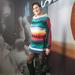 Brigitta a Takkóban vett magának csíkos pulcsit