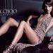 Jimmy Choo reklám: a modell lába az előtérben vékonyabb, mint a háttérban, ami elvileg lehetetlen. Mondjuk a Gucci képéhez képest, ami kicsit hátrébb található galériánkban, ez semmiség.